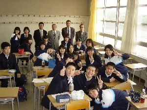 弥栄高等学校制服画像